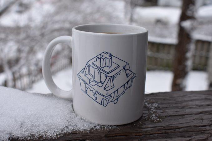 Chery MX Switch Blueprint Mug