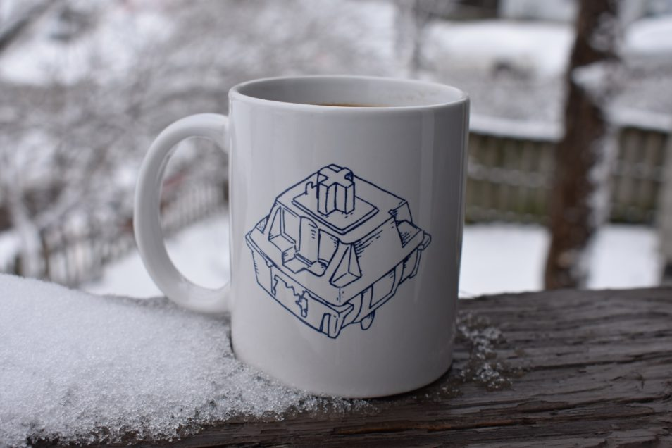 Chery MX Switch Blueprint Mug