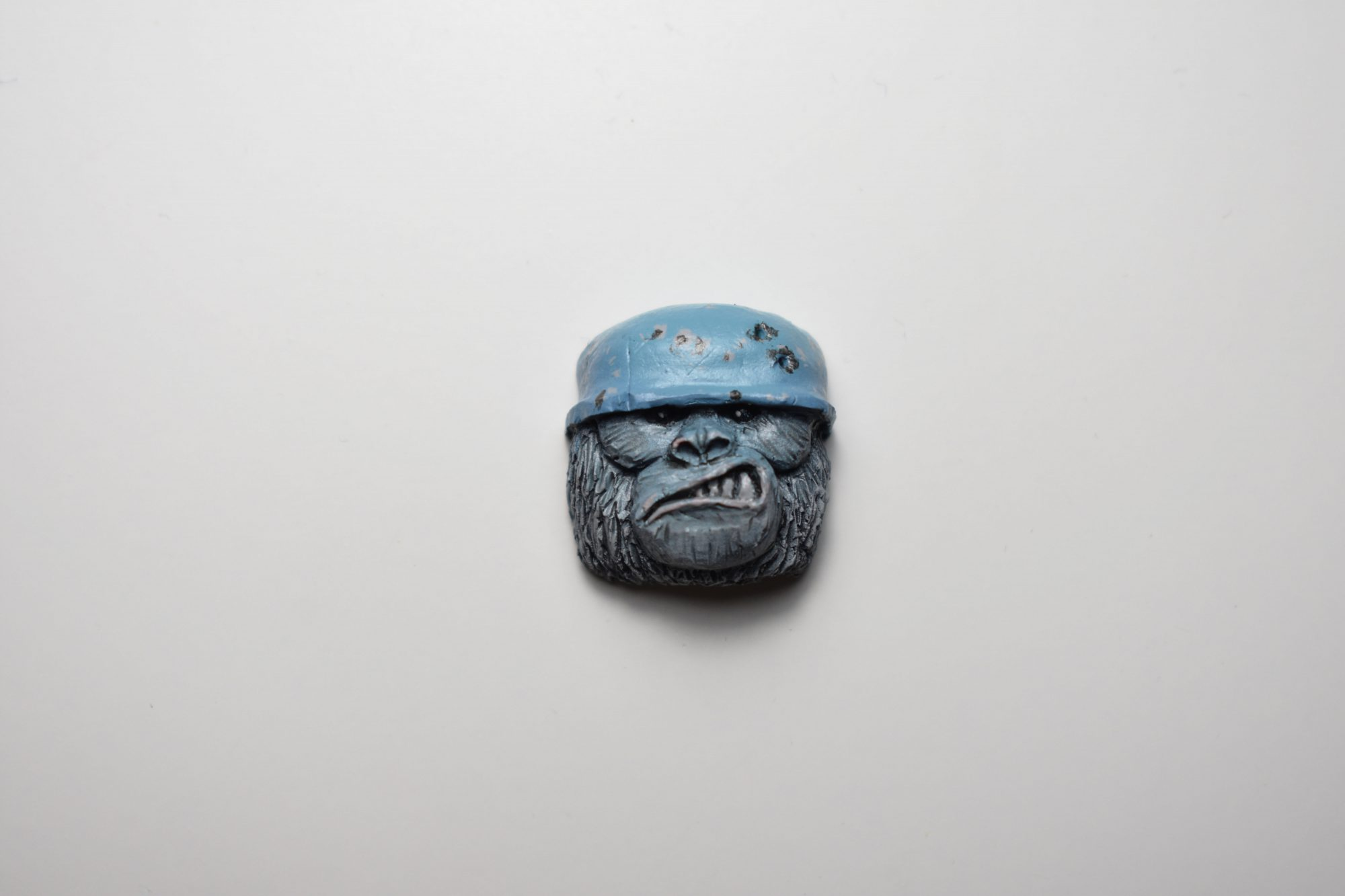Tropic Thunder Arctic Painted Artisan Keycap (Limited)
