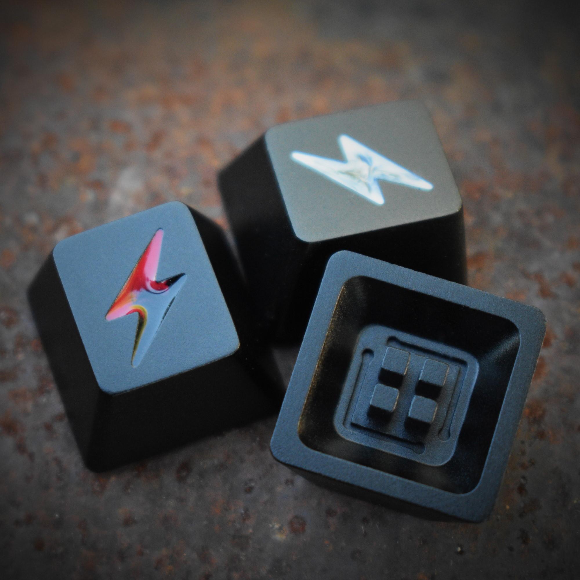 Crucible Blackout Aluminum Keycap (GB)