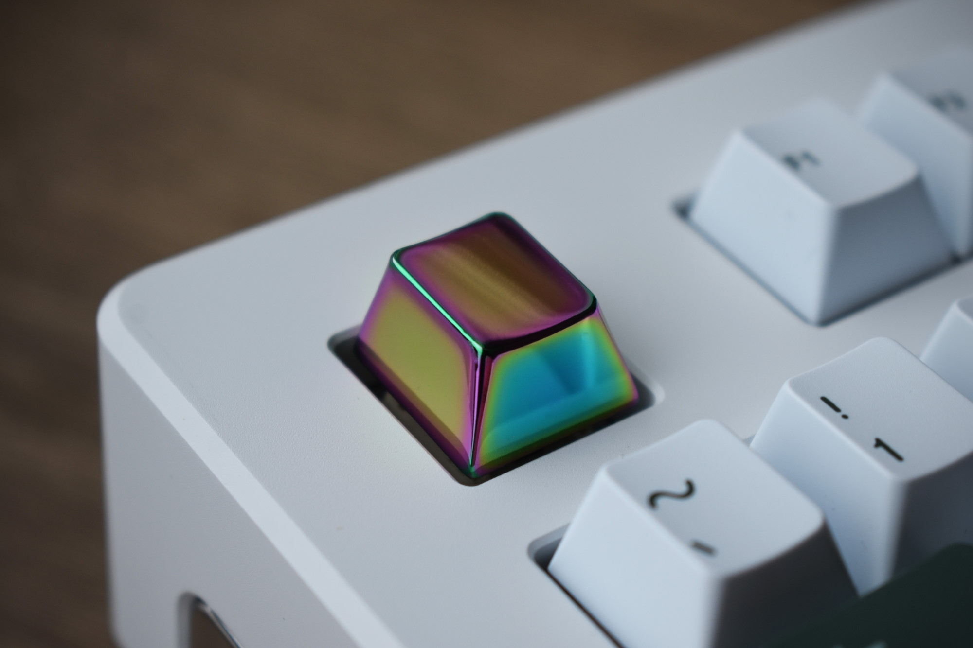 Rainbow Chrome Cherry R1 Blank