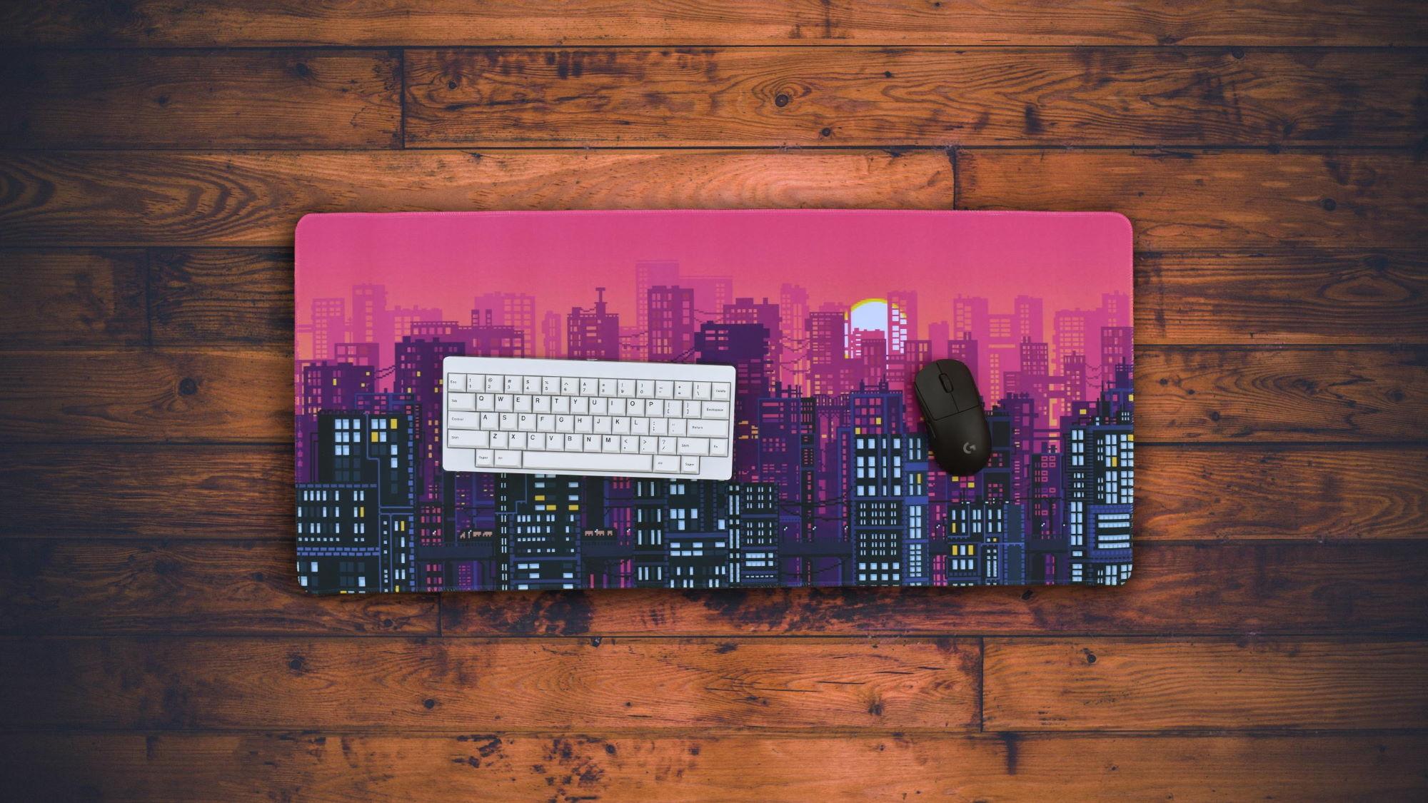 Metropolis Dawn Deskpad