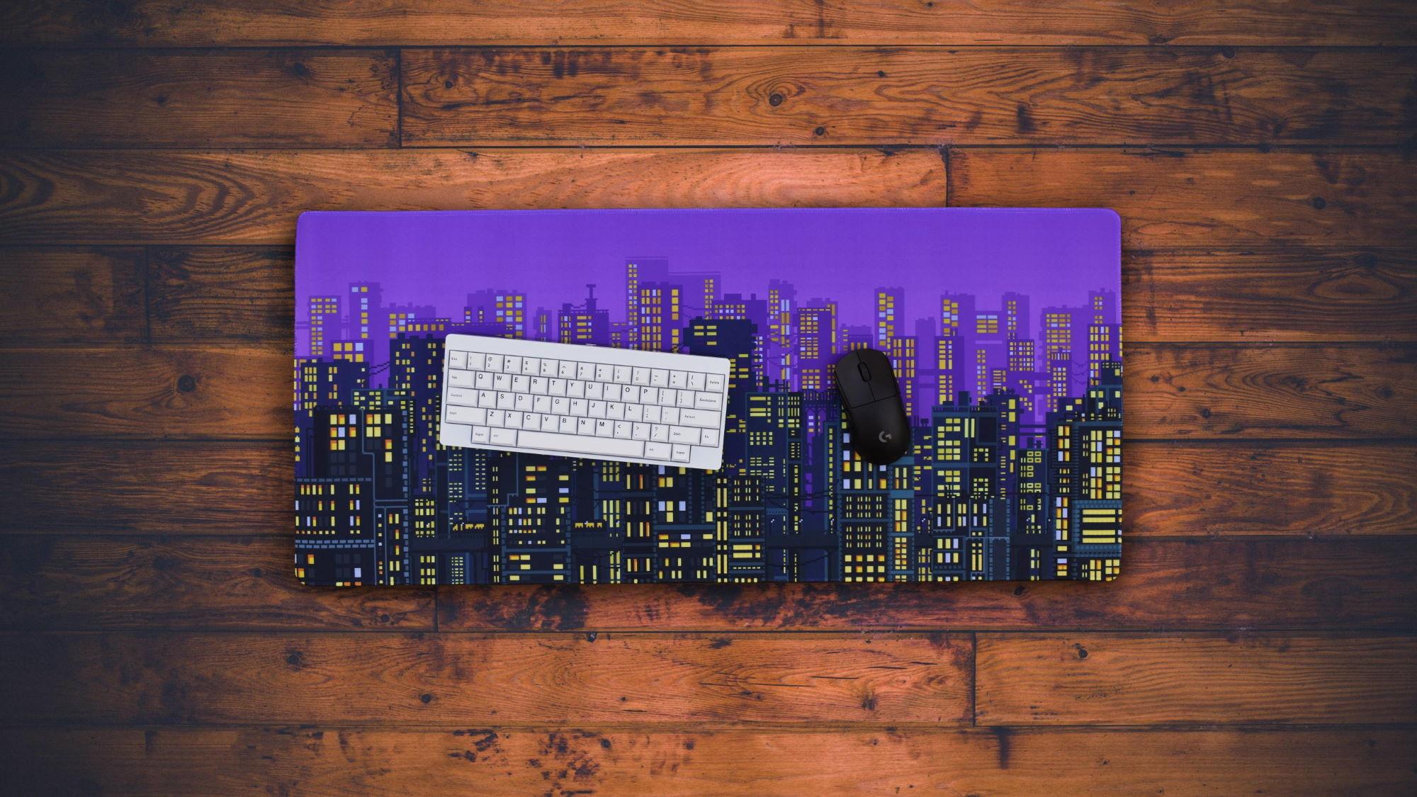 Metropolis Dusk Deskpad
