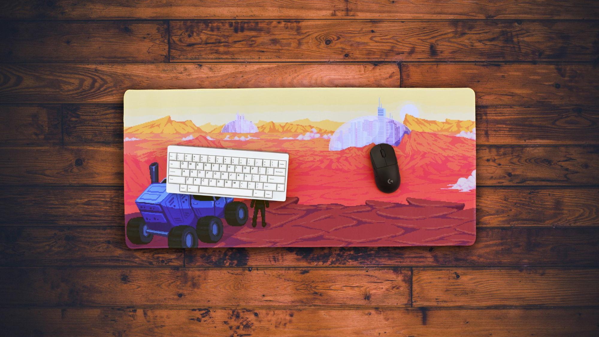 Odyssey Mars Deskpad